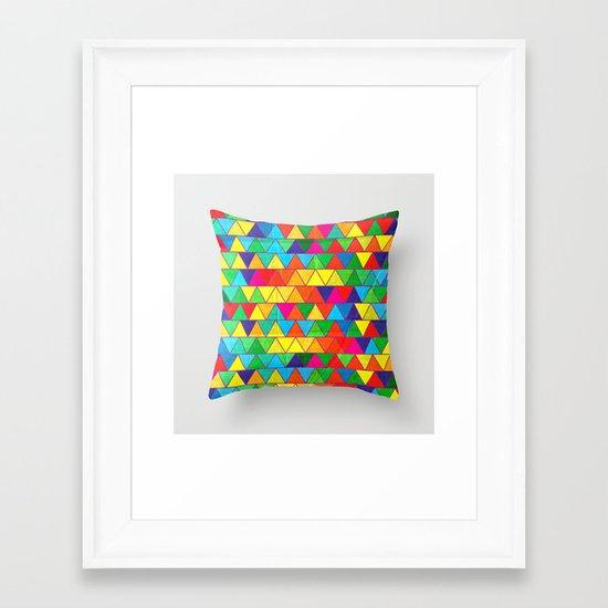 Technicoloured Dreams Framed Art Print