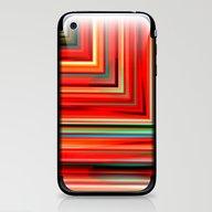 Corners Red iPhone & iPod Skin