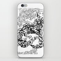 A Dragon from your Subconscious Mind #2 iPhone & iPod Skin