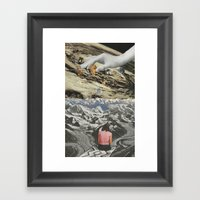Loneliness of White II Framed Art Print