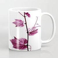 wine leaf abstract I Mug