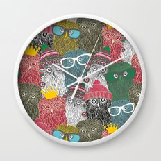 The crowd. Wall Clock