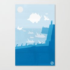 Avatar - Water Book Canvas Print