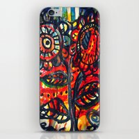 Caught on Fire iPhone & iPod Skin