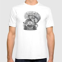 Transplantation II Mens Fitted Tee White SMALL