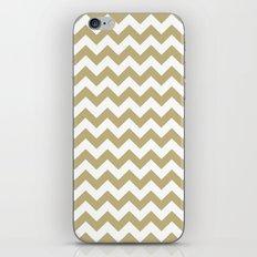 Chevron (Sand/White) iPhone & iPod Skin