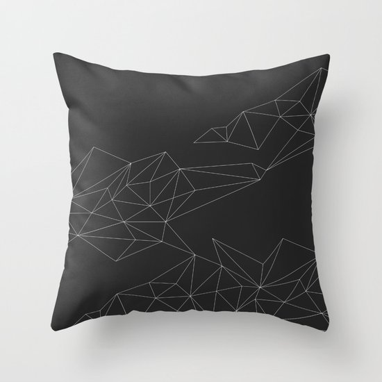 Connections 1 Throw Pillow