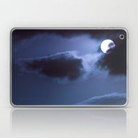 Moon Behind Cloud Laptop & iPad Skin