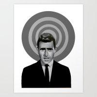 Rod Serling Art Print