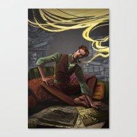 Seven Percent Canvas Print