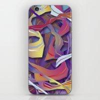 Interaction (in purple) iPhone & iPod Skin