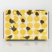 Birdsong Yellow iPad Case