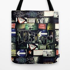Welcome To London Tote Bag