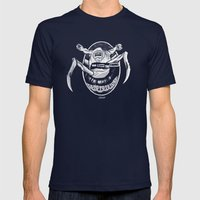 God Save the Thing Mens Fitted Tee Navy SMALL