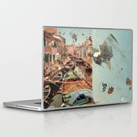 italy Laptop & iPad Skins featuring Little Italy by Paul Prinzip