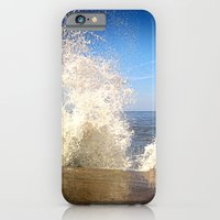 iPhone & iPod Case featuring Crashing Wave by Elizabeth Wilson Photography