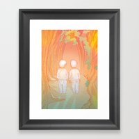 Hansel-&-Gretel Framed Art Print