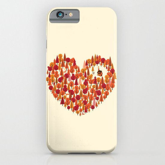 Wild at Heart iPhone & iPod Case