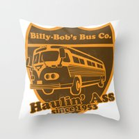 Haulin' A Throw Pillow