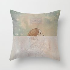 Because My Love For You (Would Break My Heart in Two) Throw Pillow