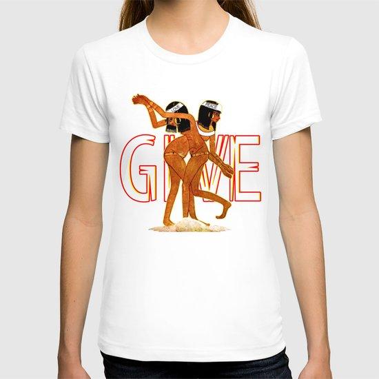 "Pugs Atomz ""Euro P"" Give Love  T-shirt"