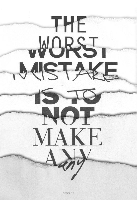 The Worst Mistake Canvas Print