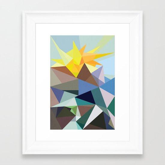 Geo-02 Framed Art Print