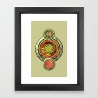 Tris Food Framed Art Print
