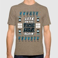 Lets Do The Time War Again Mens Fitted Tee Tri-Coffee SMALL