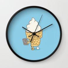 Everyone Poops (Blue) Wall Clock