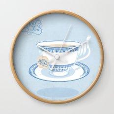 Royal Tea Wall Clock