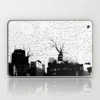 NYC splatterscape Laptop & iPad Skin