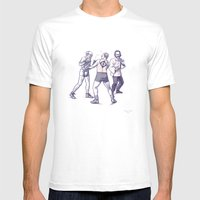 Freud, Jung, And Watts, … Mens Fitted Tee White SMALL