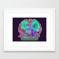 Osomatsu-san :: Electric… Framed Art Print