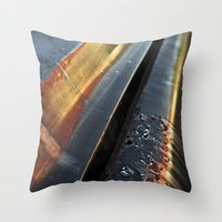 Evening Reflections II Throw Pillow