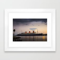 Queen Mary Framed Art Print