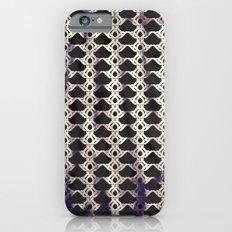 Twisted in Black iPhone 6s Slim Case