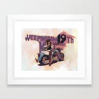 OH! MY BARN! Framed Art Print