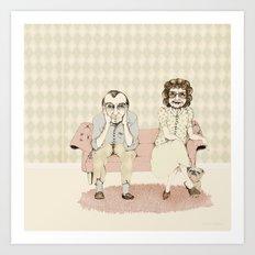 45 years married! Art Print