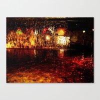 Fire Fountain Canvas Print