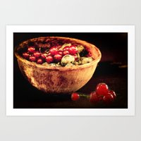 Berry mixed Art Print