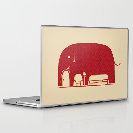 Elephanticus Roomious Laptop & iPad Skin