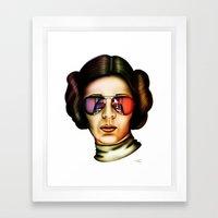 STAR WARS Princess Leia  Framed Art Print