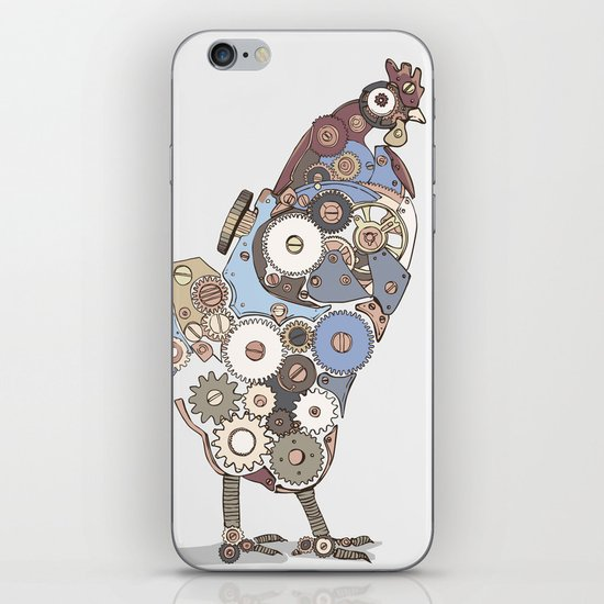 Chicken Alarm iPhone & iPod Skin