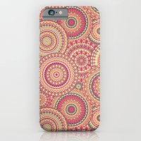 iPhone Cases featuring Mandala 110 by Patterns of Life