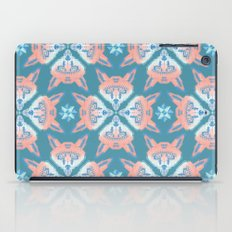 Pastel Fox Pattern iPad Case