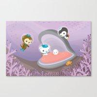 The Octonauts Pearl Resc… Canvas Print