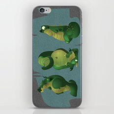 3 dragons in a cave iPhone & iPod Skin