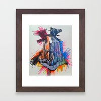 The Nose Knows Framed Art Print