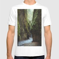 Oneonta Gorge Mens Fitted Tee White SMALL